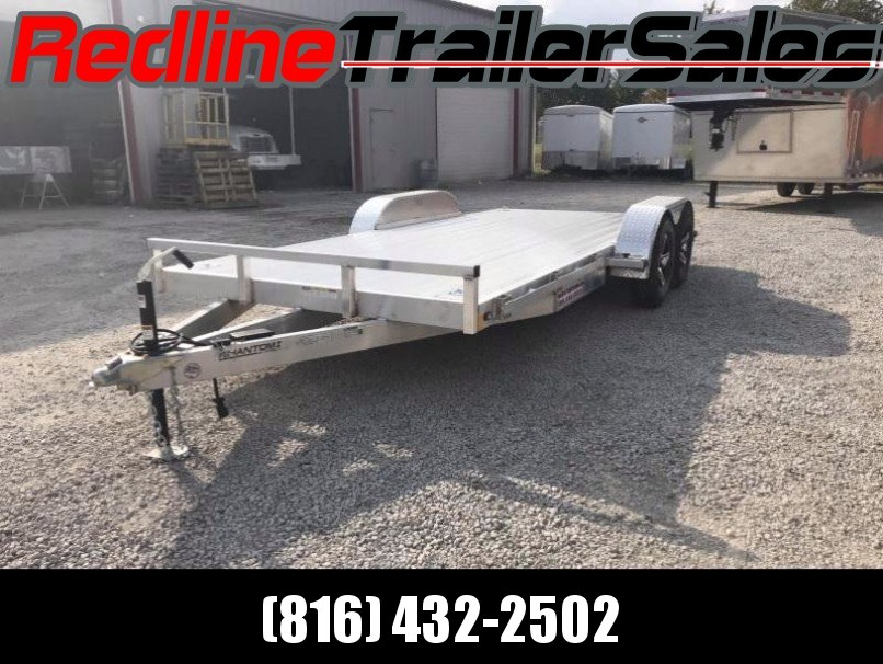 2018 Stealth Phantom 7 x 16 ALL ALUMINUM Flatbed Trailer * W/ Torsion Axles *