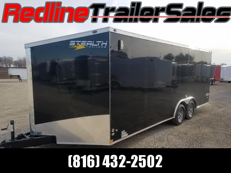 2018 Stealth Mustang 8.5x20 Enclosed Cargo Trailer