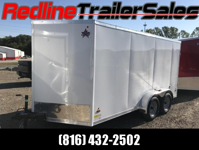 2018 US Cargo 7X14 Enclosed Cargo Trailer