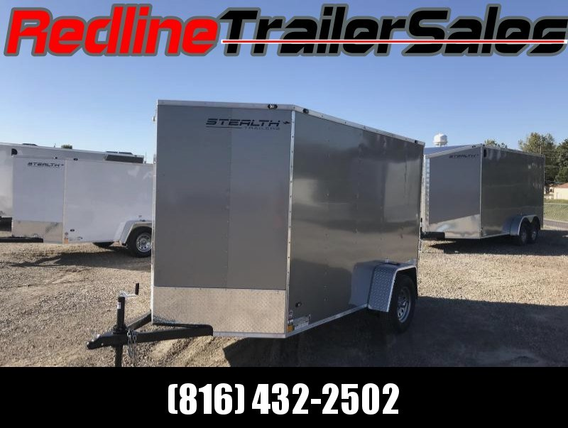2018 Stealth Mustang 6x10 Enclosed Cargo Trailer
