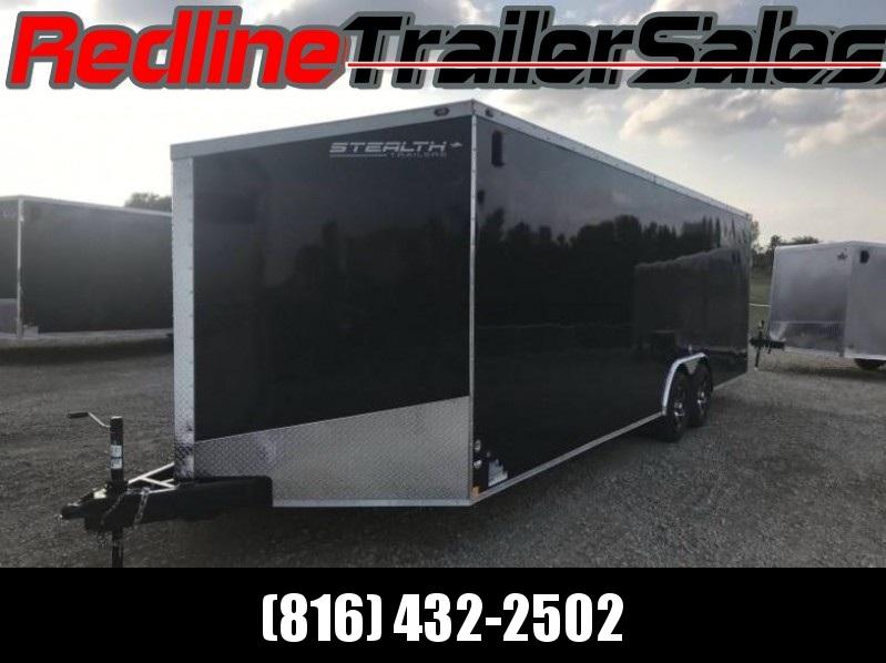 ** FALL SPECIAL ** 2018 Stealth Titan 8.5x24 Enclosed Trailer - Car Hauler