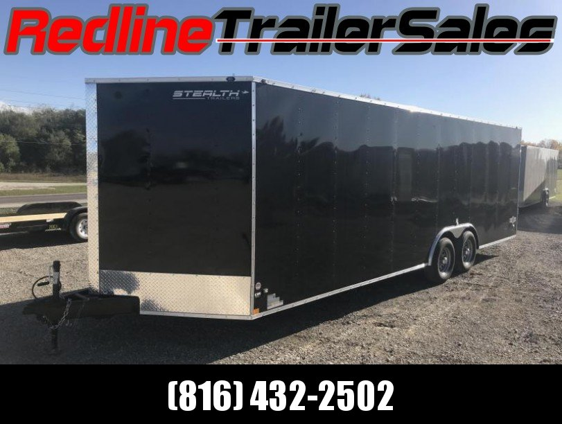 ** FALL SPECIAL ** 2018 Stealth Mustang 8.5 X 24 Enclosed Trailer ** 9990 GVWR **