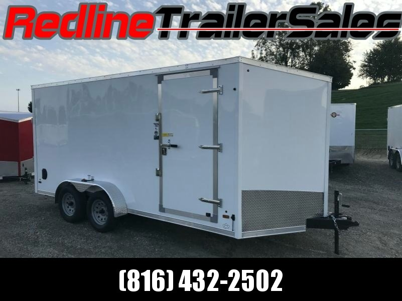 "2018 US Cargo 7X16 Enclosed Cargo Trailer * 6'6"" Interior Height *"