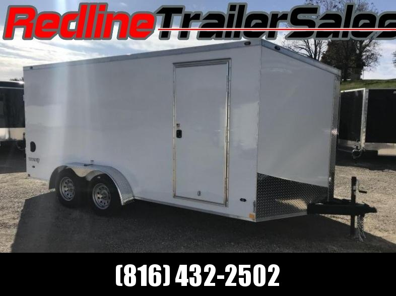 "2018 Stealth Titan 7X16 Enclosed Cargo Trailer ** 6'6"" Interior Height ** SALE"