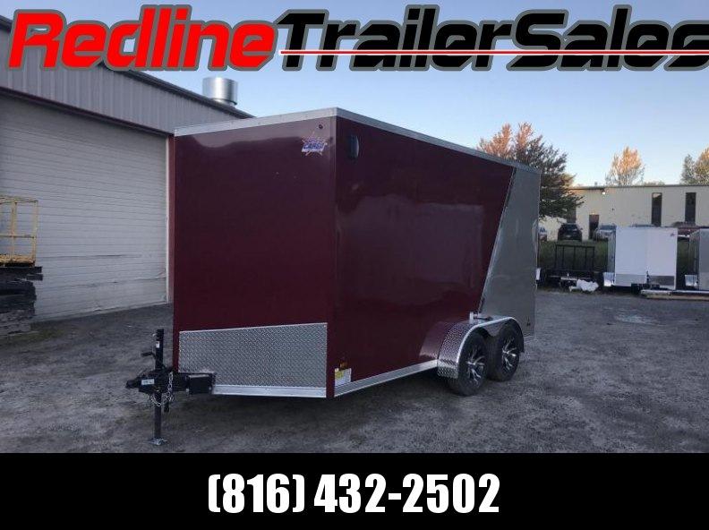 2018 US Cargo 7X14 Enclosed Cargo Trailer * 7' Interior Height *