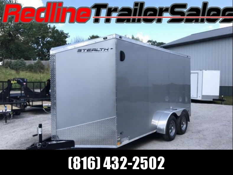 "2018 Stealth Titan 7X14 Enclosed Cargo Trailer ** 6'6"" Interiror Height **"