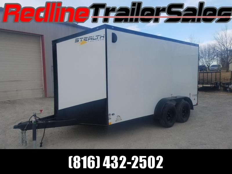 "USED 2018 Stealth Titan 7X14 Enclosed Cargo Trailer ** 6'6"" Interior Height **"
