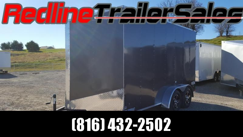 ** NEW YEAR SALE ** 2018 Stealth Mustang 7 x 14 Enclosed Cargo Trailer 7' Height