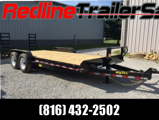 2017 Big Tex 20' Equipment Trailer ** 14000lb GVWR **