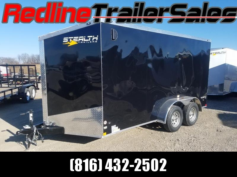 2018 Stealth Titan 7x14 Enclosed Cargo Trailer **6'6 Interior Height**