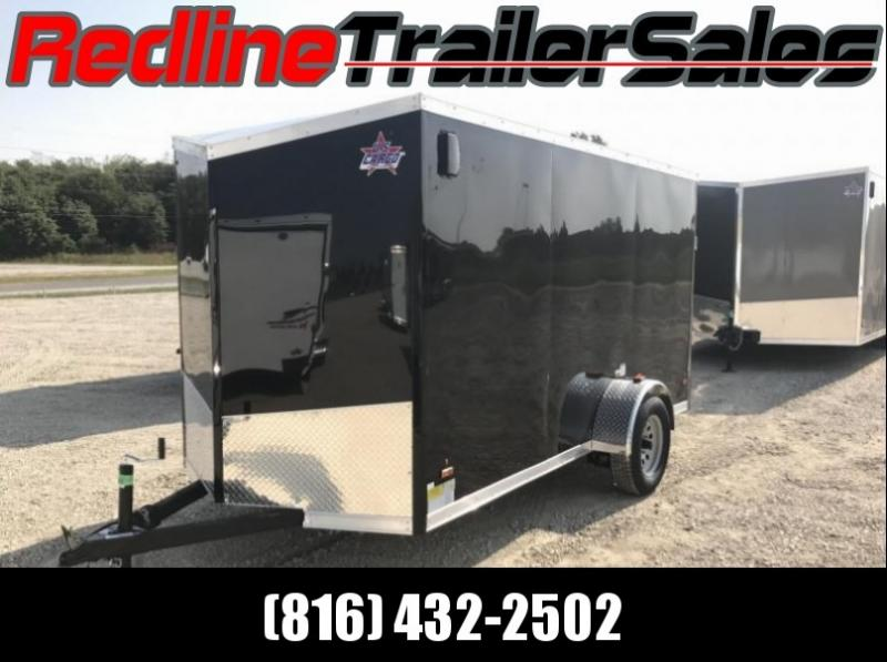 2018 US Cargo 6X12 Enclosed Cargo Trailer
