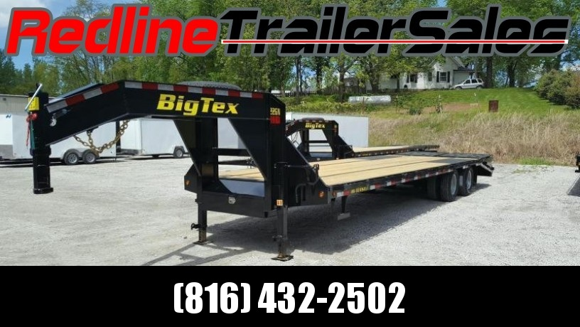 2018 Big Tex Trailer 25+5 Gooseneck Equipment Trailer 23900 GVWR