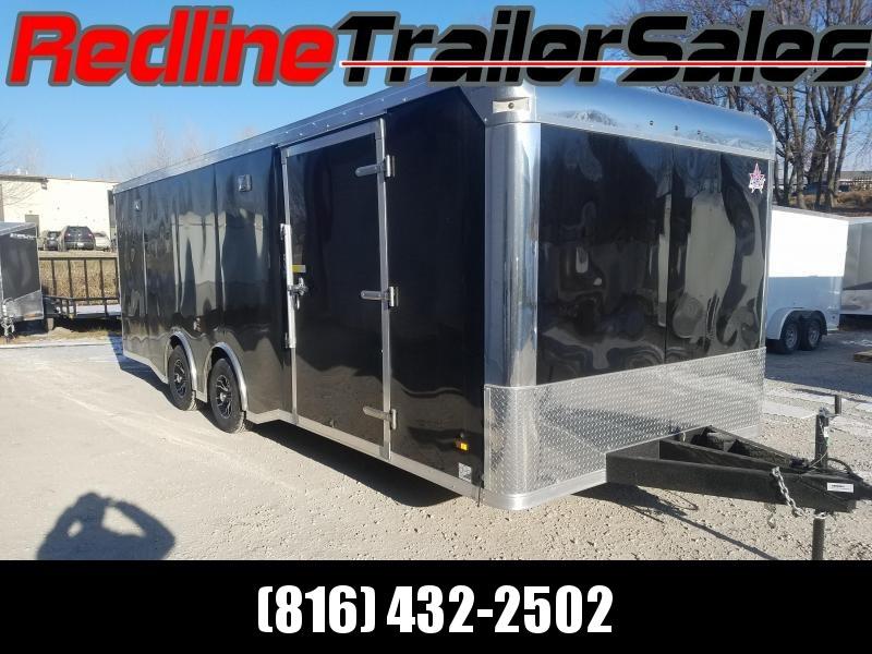 2018 US Cargo 8.5x24 Car Hauler/Racing Trailer