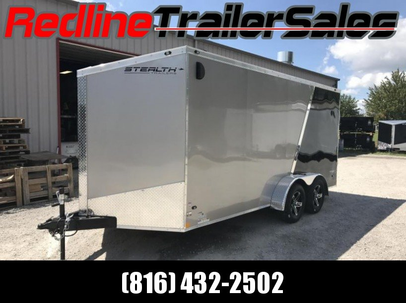 "2018 Stealth Titan 7X16 Enclosed Cargo Trailer * 6'6"" Interior Height *"