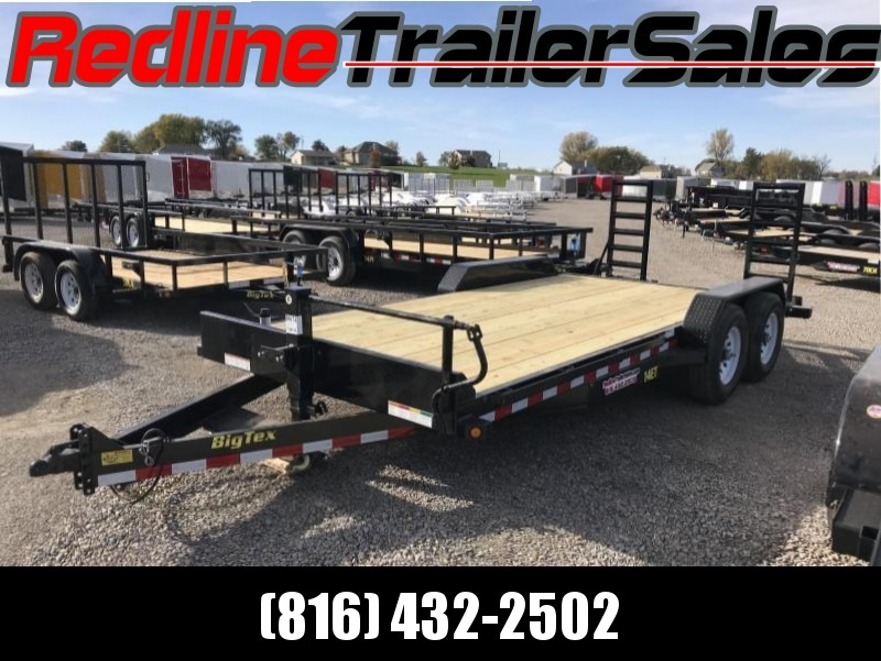 2018 Big Tex 18' Equipment Trailer ** 14K GVWR **