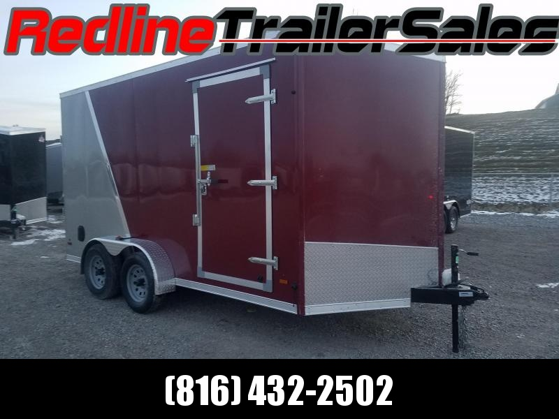 2018 US Cargo 7X14 Enclosed Cargo Trailer * 7' Interior Height *