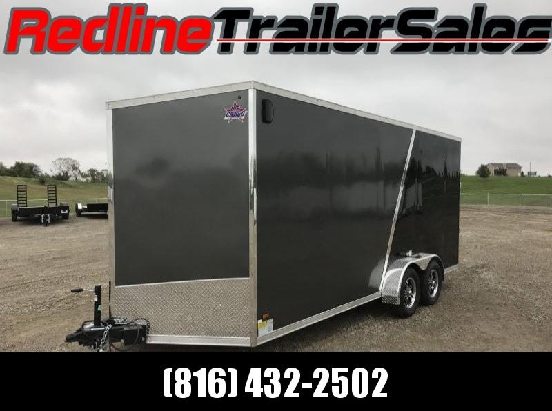 2018 US Cargo 7X18 Enclosed Cargo Trailer * 7' Interior Height *