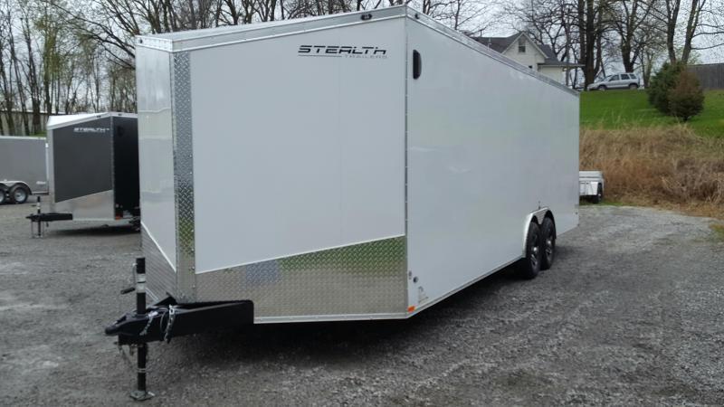 2018 Stealth Titan 8.5x24 Enclosed Cargo Trailer- 9990GVWR