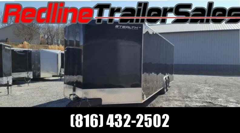 "2018 Stealth Mustang 8.5 X 24 Enclosed Trailer * 6'6"" Interior Height *"