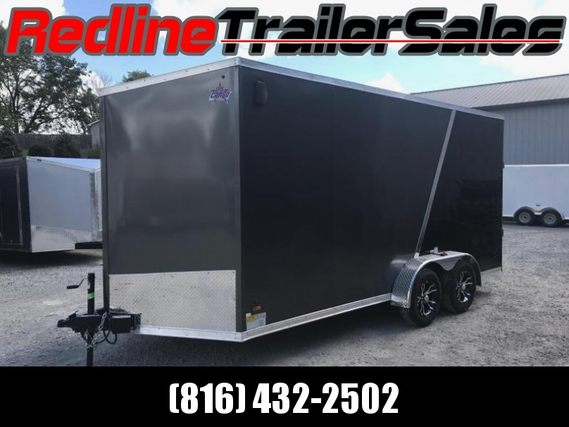 2018 US Cargo 7X16 Enclosed Cargo Trailer * 7' Interior Height * - Fall Special *