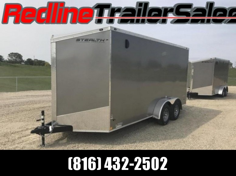 2018 Stealth Titan 7X16 Enclosed Trailer * 7' Interior Height *
