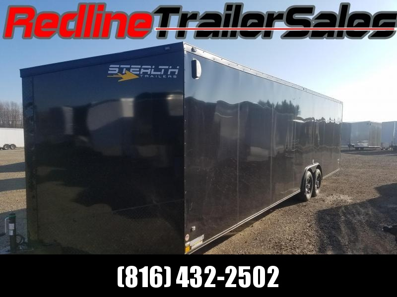 2018 Stealth Titan 8.5x28 Enclosed Cargo Trailer *BLACKOUT PACKAGE*