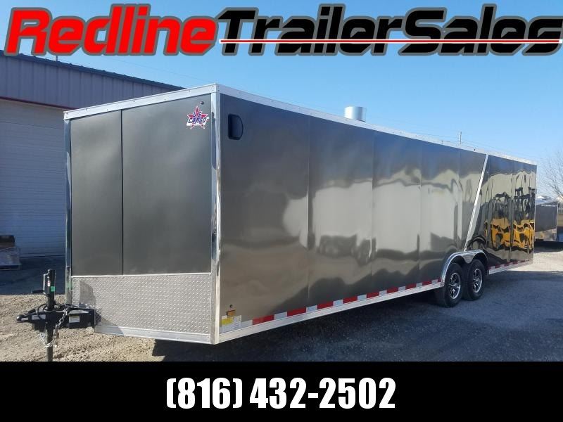 2018 US Cargo 8.5X28 Enclosed Cargo Trailer *SCRATCH AND DENT SPECIAL*