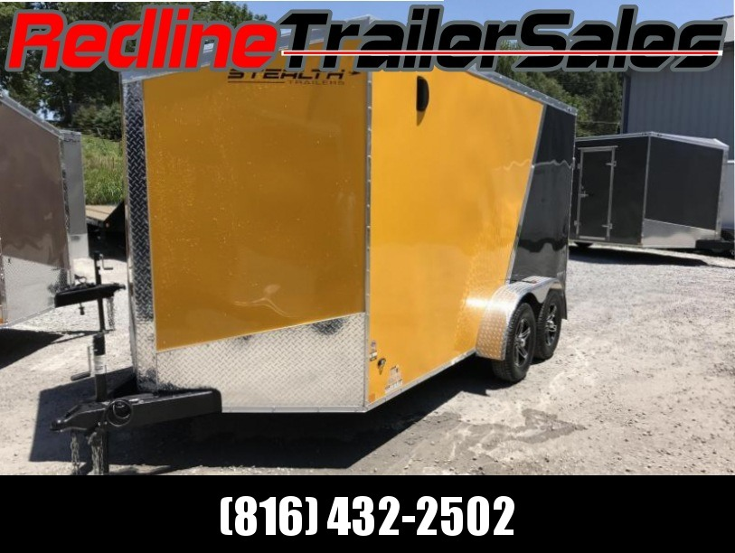 "** FALL SPECIAL ** 2018 Stealth Titan 7X14 Enclosed Cargo Trailer ** 6'6"" Interiror Height **"