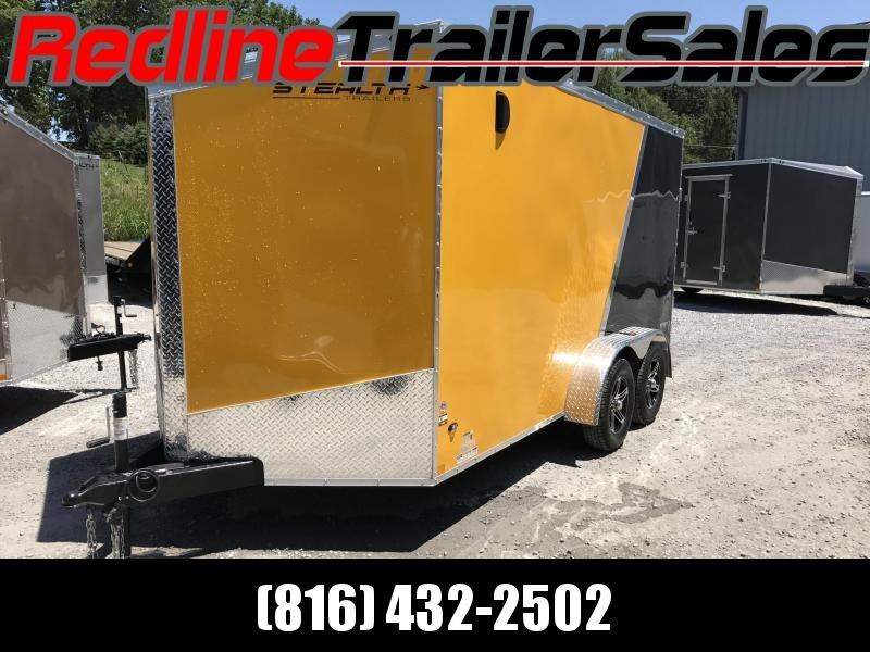 """** NEW YEAR SPECIAL ** 2018 Stealth Titan 7X14 Enclosed Cargo Trailer ** 6'6"""" Interior Height **"""