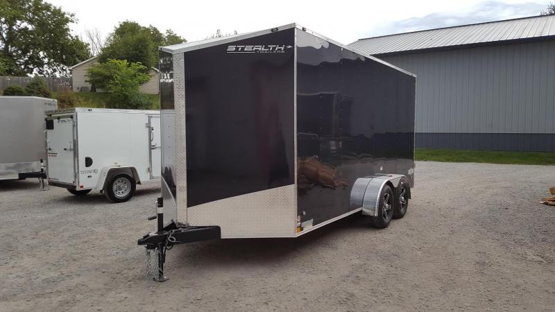 2018 Stealth Mustang 7x16 Enclosed Cargo Trailer ** 7' Interior Height**