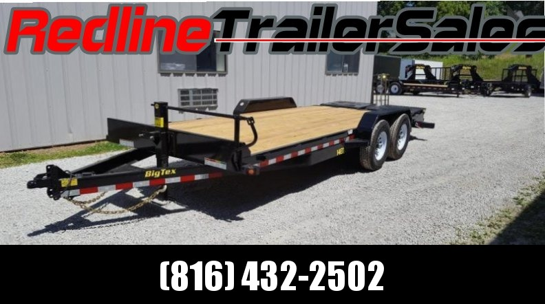 2018 Big Tex 83'' x 20'  Equipment Trailer **14K GVWR MEGA RAMPS**