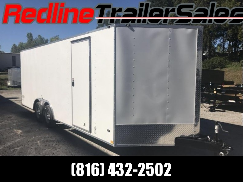 "2018 Stealth Mustang 8.5 X 20 Enclosed Trailer * 6'6"" Interior Height *"