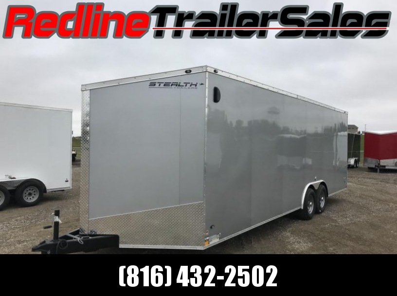 2018 Stealth Titan 8.5x24 Enclosed Trailer - Car Hauler * 7' Interior Height *