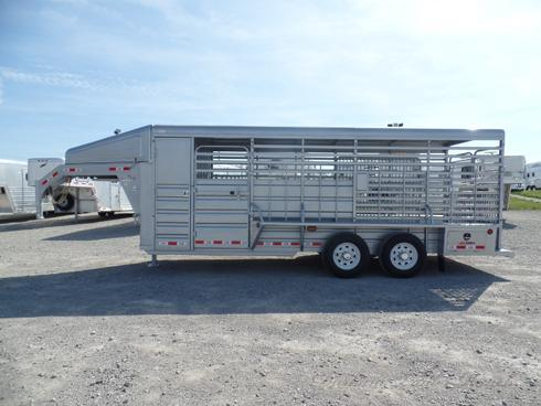 2019 GR 20ft Stock Trailer with 2ft Tack