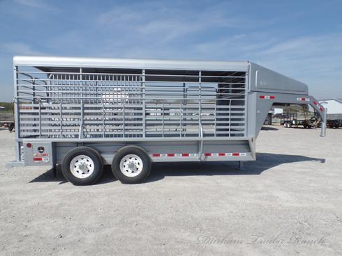 2019 GR 16ft Gooseneck Stock Trailer