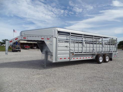 2019 GR 24 ft Stock Trailer