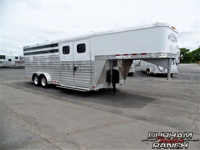2019 Bloomer 4H Stock Combo Trailer