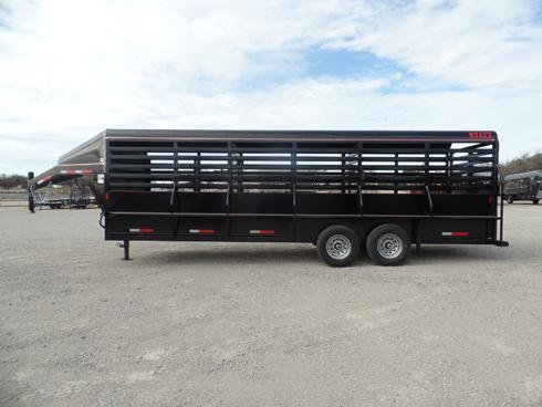 2019 Wyatt 24ft Stock Trailer