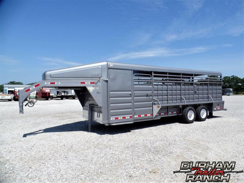 2019 GR Trailers 24 ft. GR Gooseneck Stock Livestock Trailer