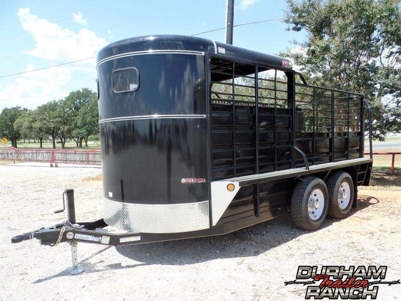 2019 GR 16' BP Half Top Livestock Trailer