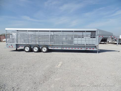 2019 GR 32ft Gooseneck Stock Trailer