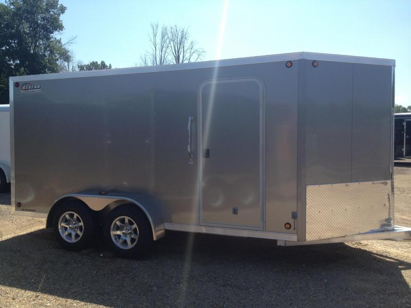 2018 Legend Manufacturing Legend Aluminum 7x14 FTV Cargo Trailer Enclosed Cargo Trailer
