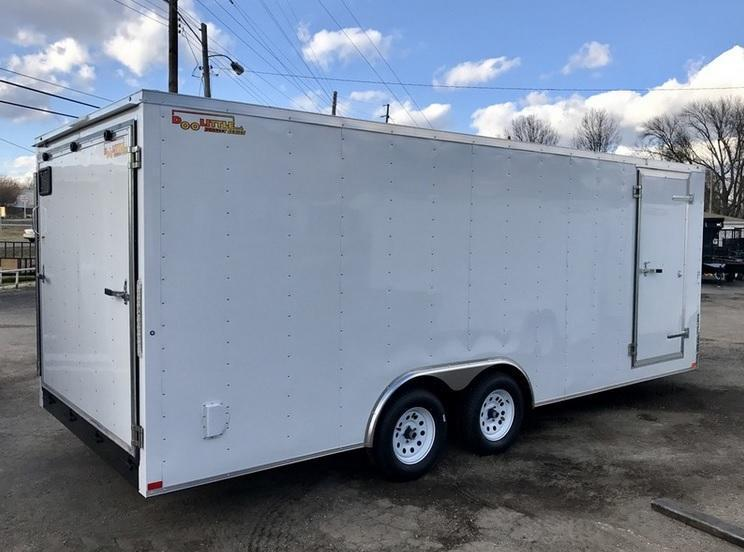 2018 Doolittle Trailer Mfg 8.5x20 Bullitt Cargo Trailer Enclosed Cargo Trailer