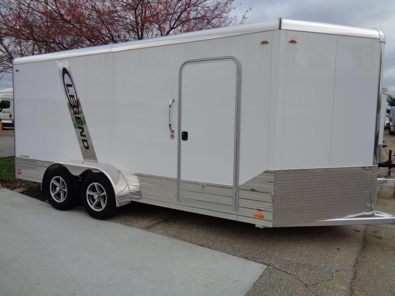 2018 Legend Manufacturing 7x16 Deluxe Cargo Trailer Enclosed Cargo Trailer