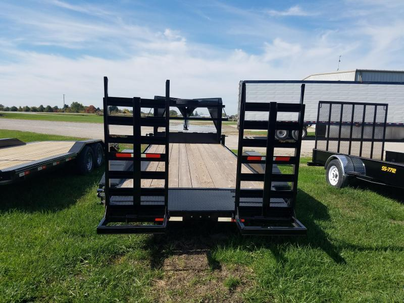2018 Doolittle Trailer Mfg 82x24 Doolittle Extreme Gooseneck Trailer Equipment Trailer