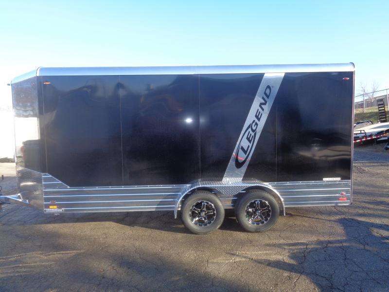 2018 Legend Manufacturing 7x16 Deluxe Cargo Trailer Enclosed Cargo Trailer