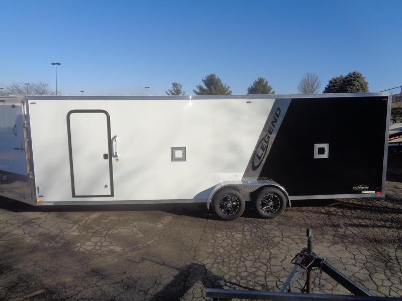 2018 Legend Manufacturing 2018 Legend Explorer Snowmobile Trailer 7x23 Snowmobile Trailer
