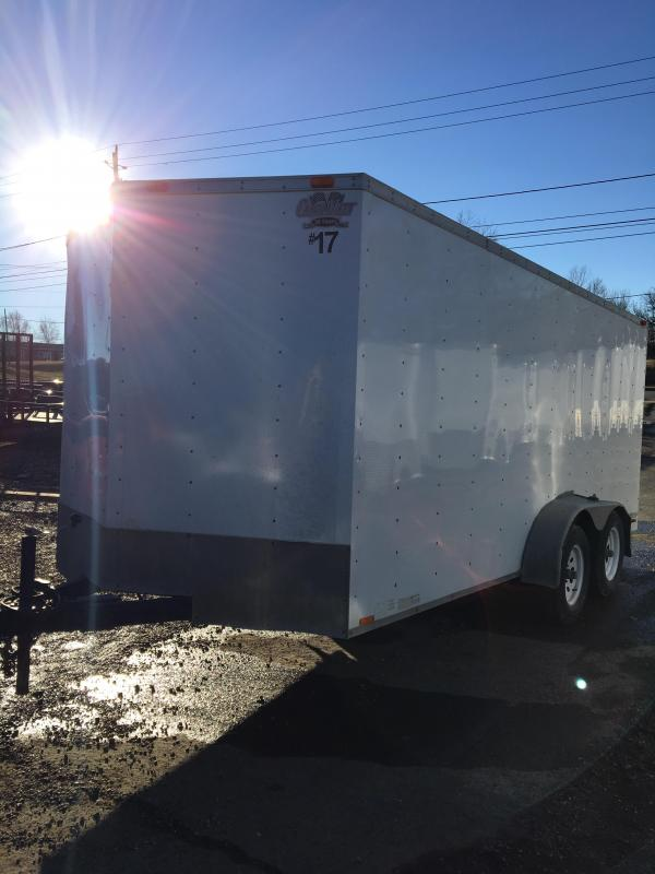 2009 Cargo Mate 7x16 Econo Hauler Enclosed Cargo Trailer