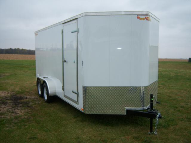 2017 Doolittle Trailer Mfg 7x16 Doolittle Bullitt Specialty Build 6 Tall with Ramp Door Enclosed Cargo Trailer