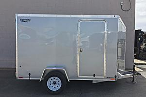 2017 Lightning Trailers 6x10 SA Enclosed Cargo Trailer